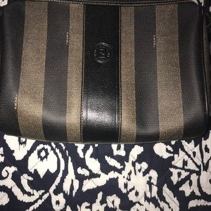 Authentic Vintage Fendi Penguin Print Crossbody